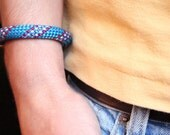 HIMALAYA - climbing rope bracelet w/ magnet clasp - one loop