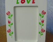 Love You Rose Picture Frame