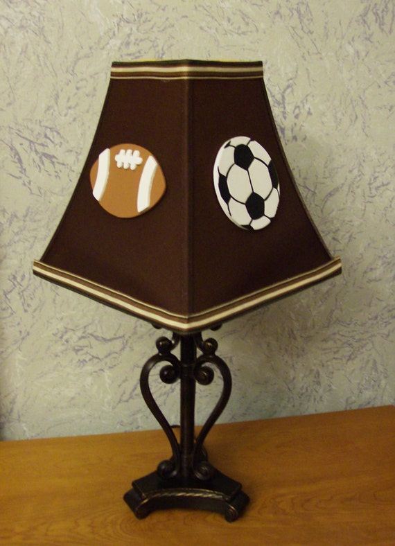 Game Day Sports Lamp Shade