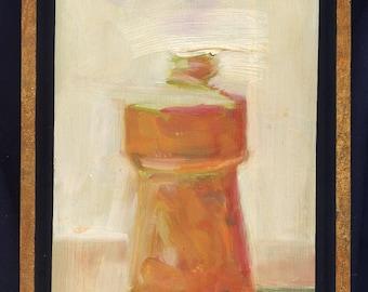 Rusty Glass Bottle