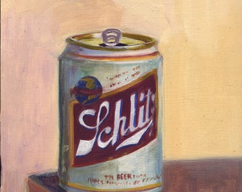 Schlitz beer can