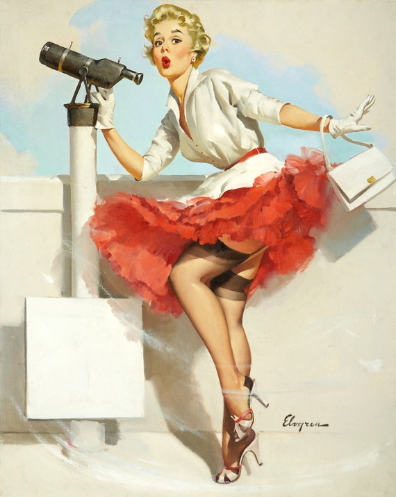 Collection of  more than 7,000 Vintage Beautiful Women Pin Ups, Pinups Artworks (.jpg file format) on DVD-ROM