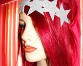 Glitter Star Crown hairband hairwrap headband
