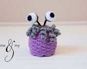 One of a Kind Monsters Inc Boo Costume hat for newborn