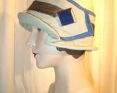 Silk and Straw Cloche