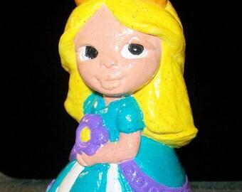 Handpainted Figurine Pretty Princess