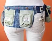 Vintage Remake Hip Belt/Bag - Nature Green