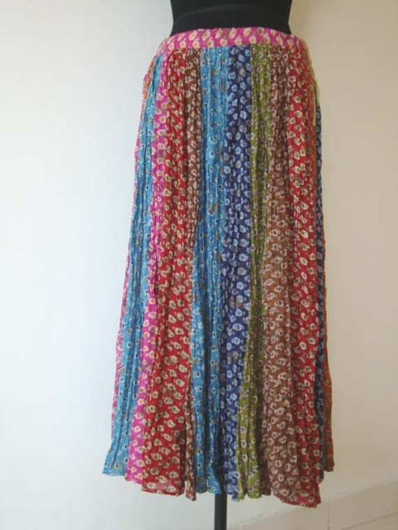 Women Maxi Skirt Long hippie dressGypsy Clothing Summer wear Beachwear hippie style