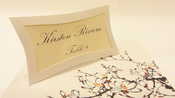 25 Stylish Picture Frame Place Cards
