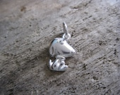Solid 925 Sterling Silver, Snoopy Dog Charm
