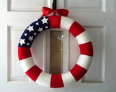 Stars and Stripes- 4th of July Wreath