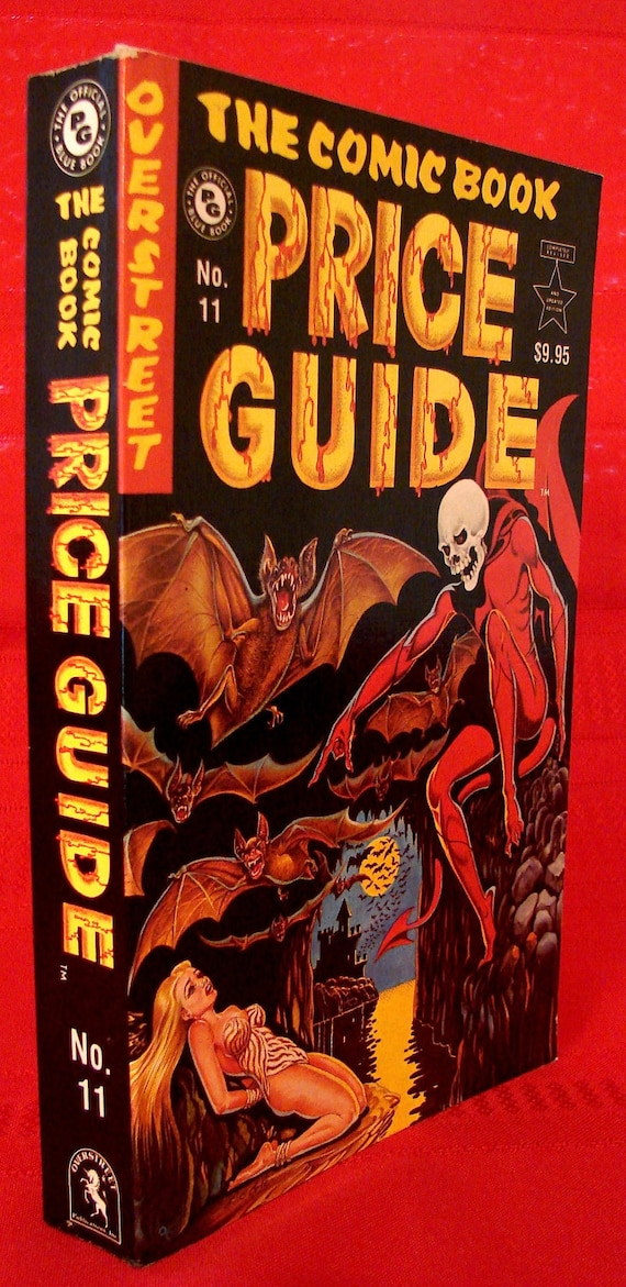 Vintage 1981-82 Comic Book Price Guide: R.M. Overstreet 11th