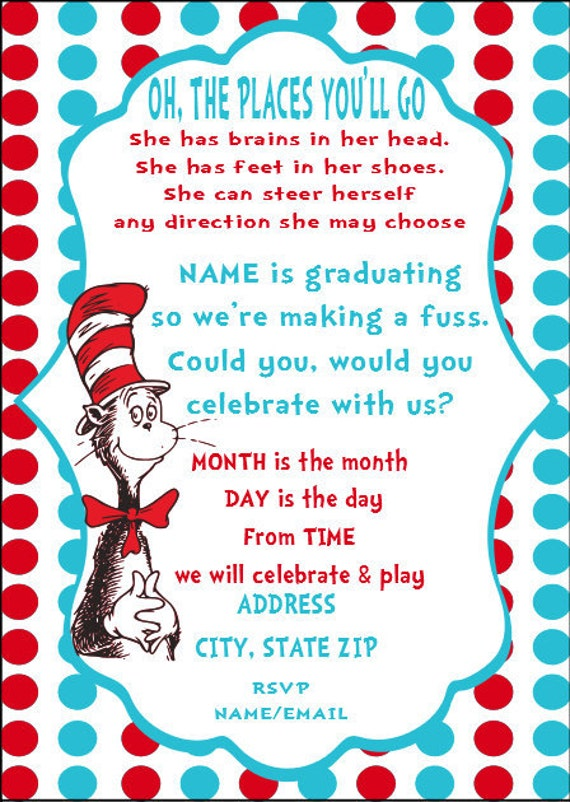 Dr Seuss Baby Shower Invites for awesome invitation layout