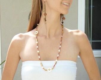 Boho Dangle Earrings, Antique Gold Drop Earrings, Butterfly Charm Earrings, Bronze SuDangles, Bohemian Jewelry