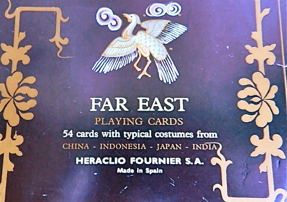 Vintage Playing Cards.Game.Heraclio Fournier.Spain