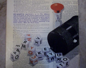 Vintage 1969 Perquackey Word Game