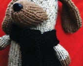 Handmade Knit Puppy