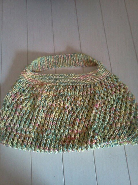 Knitting Nancy Machine : Knitting nancy market bag or tote go green great by