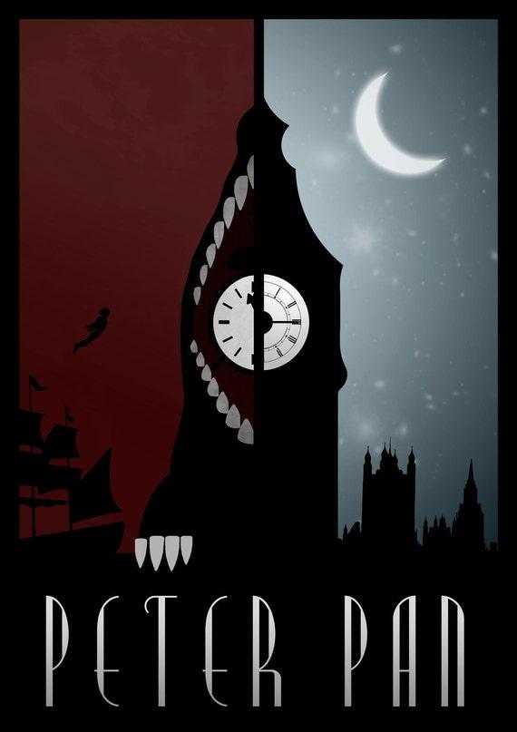 Disney's Peter Pan Minimalist Poster