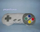SNES Controller Pillow (grey)