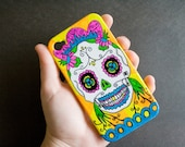Sugar Skull Cell Phone Case, i phone 4 / 4s, cell phone cover