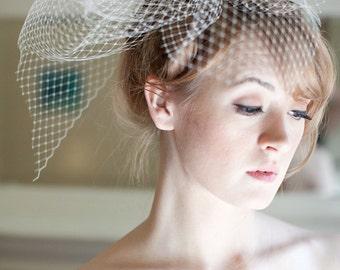 Bridal Birdcage Veil Fascinator