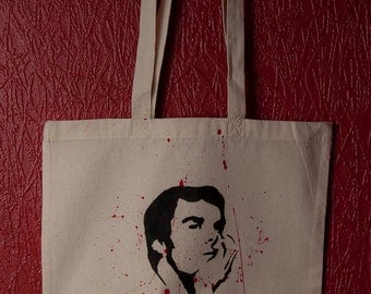 Dexter Inspired Canvas Tote Bag