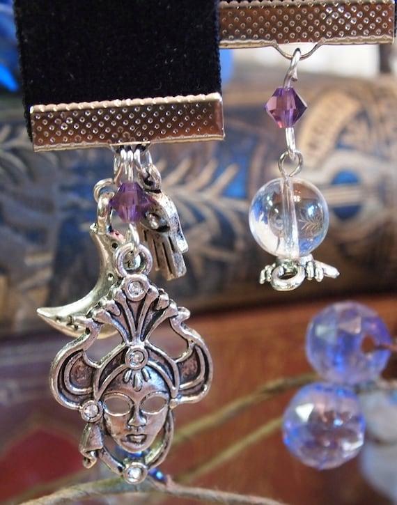The Mystic Gypsy Velvet Bookmark