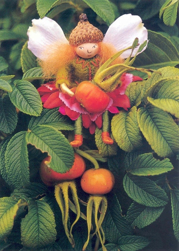 Blossom Fairy Note Cards from Felt Wee Folk Book