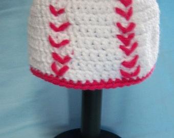 Girl's Baseball Hat - 1 to 3 Yr Old
