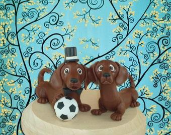 Customized Dog Cake Topper