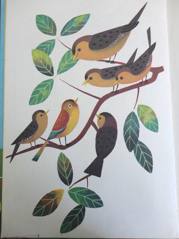 The Ittle Coloured Bird by Rainbow Books 1974