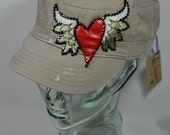 Heart with Wings Cap 05