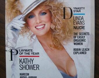 June 1986 Playboy Magazine