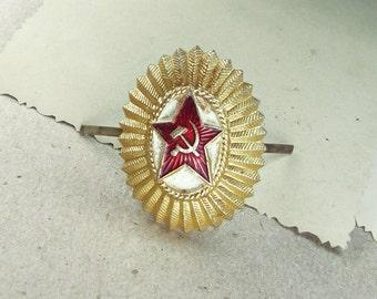 Vintage Soviet Pin - Military Ussr - VS12