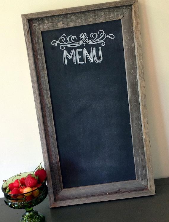 Farmhouse Chic Chalkboard Sign Rustic Wedding Decor Shabby