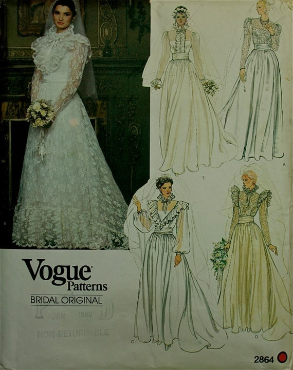 1970s designer bridal or evening holiday gown vogue bridal original