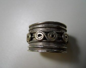 Hand crafted Sterling Silver Band