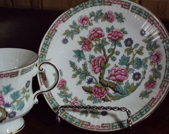 Eizabethan Fine Bone China Cup & Saucer- Pattern Indian Tree.