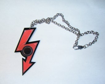 Recycled Marilyn Manson cd Necklace
