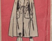 Mail Order 4741,Vintage 70s pattern, Cape Coat, Size 20, UNCUT