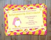 Penguin Birthday Invitation - Princess Penguin Birthday Party Printable Invitation