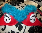 Thing 1 and Thing 2 Bra