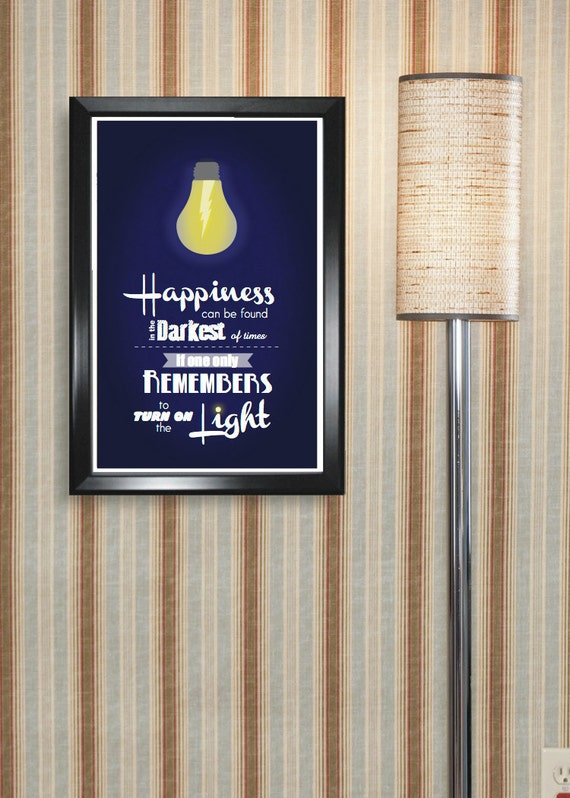 Harry Potter inspired Poster Print with Quote - 11x17, Housewarming, Birthday, Christmas Gifts