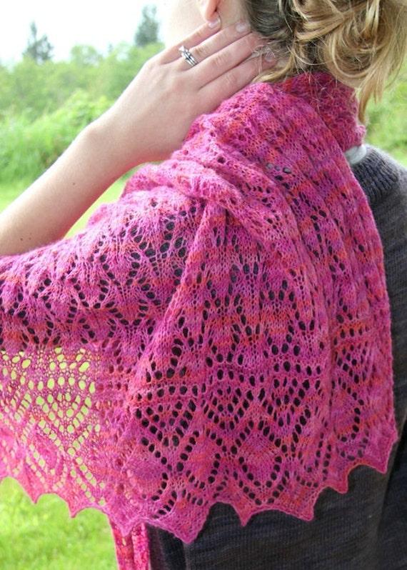 Knit Wedding Shawl Pattern Inspiration - Amazing Lace