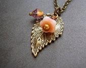 Peaches & Breezes - Necklace