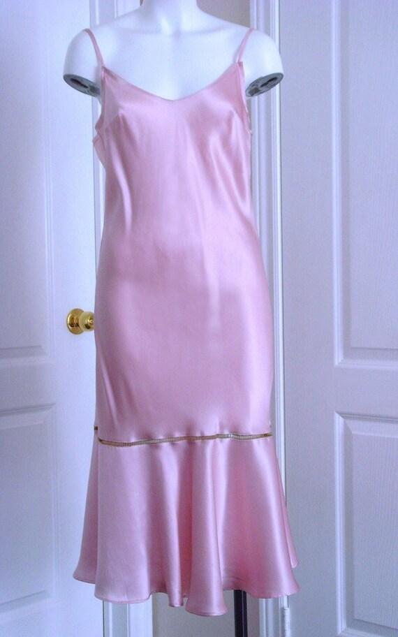 Pink Silk nightgown