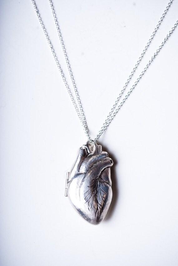 Anatomically Correct Heart Locket
