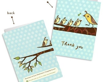thank you cards for teachers thank you cards, cute thank you notes, woodland animals kids thank you card set, teacher thank you notes