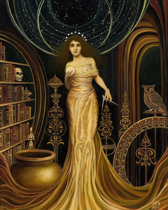 Urania - The Muse of Astronomy and Philosophy 16x20 Poster Print